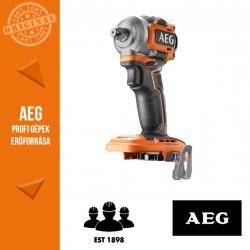 """AEG BSS18S12BL-0 18 V szénkefe nélküli subkompakt ütvecsavarbehajtó - alapgép 1/2"""" 280Nm"""