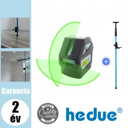 HEDUE L1G vonallézer + LP4 szorítórúd 3,6 m szettben