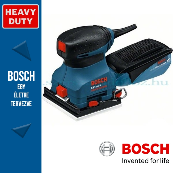 Bosch GSS 140 A Professional Rezgőcsiszoló