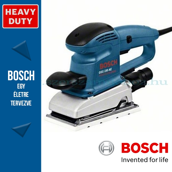 Bosch GSS 230 AE Professional Rezgőcsiszoló