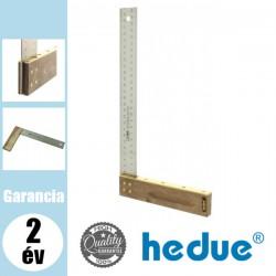 HEDUE Asztalos derékszög 35 mm széles mérőszárral - 300 mm