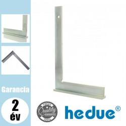 HEDUE Lakatos talpas derékszög horganyzott acélból - 100 x 70 mm