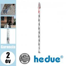 HEDUE Teleszkópos szintezőléc - 1,23-5 m