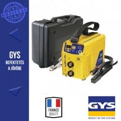 GYSMI E 163 Bevontelektródás és LIFT-TIG AWI-S hegesztő inverter