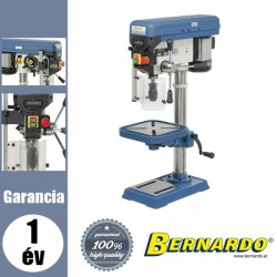 BERNARDO BM 20 Vario-hajtóműves asztali fúrógép - 400 V