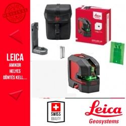 Leica Lino L2G zöld kereszt és vonallézer elemkazettával vászontáskában