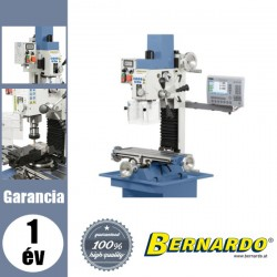 BERNARDO KF 25 D Vario Fúró- és marógép digitális fordulatszám- és szegnyeregemelkedés-mutatóval