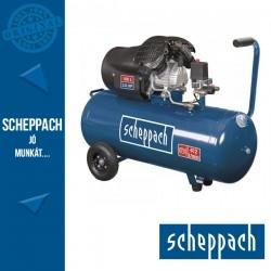 Scheppach HC 120 DC Kéthengeres olajkenésű kompresszor