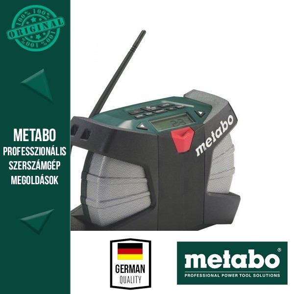 Metabo PowerMaxx RC Rádió