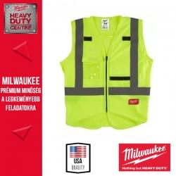 Milwaukee Láthatósági mellény - Sárga (L/XL)