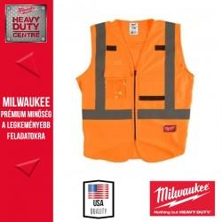 Milwaukee Láthatósági mellény - Narancssárga (L/XL)