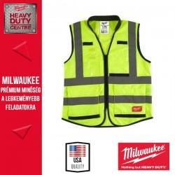 Milwaukee Prémium Láthatósági mellény - Sárga (L/XL)