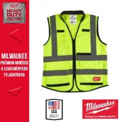 Milwaukee Prémium Láthatósági mellény - Sárga (2XL/3XL)