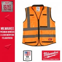 Milwaukee Prémium Láthatósági mellény - Narancssárga (S/M)