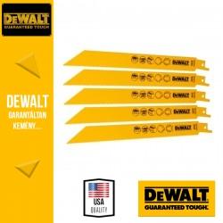 DEWALT DT2353-QZ Bi-Metál Fémvágó kobalt kardfűrészlap 203 mm - 5 db/csomag