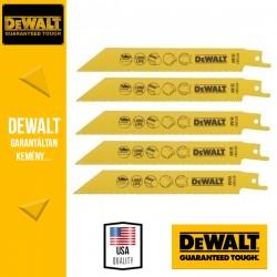 DEWALT DT2361-QZ Bi-Metál Fémvágó kobalt kardfűrészlap 152 mm - 5 db/csomag