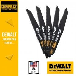 DEWALT DT2307L-QZ Kardfűrészlap fa + szögek vágására 228 mm - 5 db/csomag