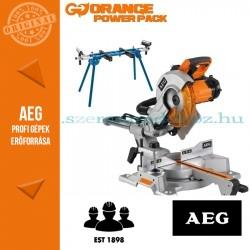 AEG PS 254 L Gérvágófűrész + Gérvágó állvány