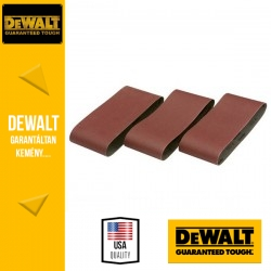 DEWALT DT3644-QZ Csiszolószalag 75 mm x 457 mm 120 g - 3 db/csomag