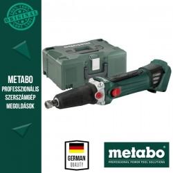 METABO GA 18 LTX Akkus Egyenescsiszoló alapgép (MetaLoc kofferben)