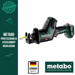 METABO SSE 18 LTX BL COMPACT Akkus Kardfűrész (MetaLoc kofferben)