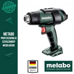 METABO HG 18 LTX 500 Akkus Hőlégfúvó alapgép (metaBOX 145 L kofferben)