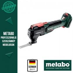 METABO MT 18 LTX BL QSL Akkus Multiszerszám alapgép (metaBOX 145 L kofferben)