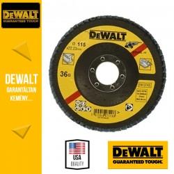 DEWALT DT3255-QZ Lamellás csiszolótárcsa 115 mm x 22,2 mm 36 g - mélyített