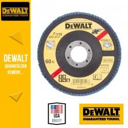 DEWALT DT3256-QZ Lamellás csiszolótárcsa 115 mm x 22,2 mm 60 g - mélyített