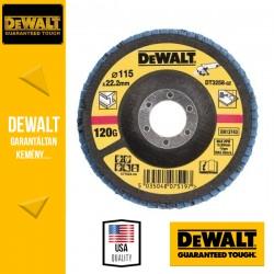 DEWALT DT3258-QZ Lamellás csiszolótárcsa 115 mm x 22,2 mm 120 g - mélyített