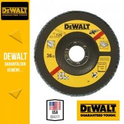 DEWALT DT3265-QZ Lamellás csiszolótárcsa 125 mm x 22,2 mm 36 g - mélyített