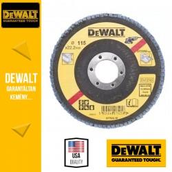 DEWALT DT3292-QZ Lamellás csiszolótárcsa 115 mm x 22,2 mm 36 g - lapos
