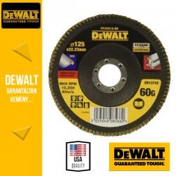 DEWALT DT30612-QZ EXTREME Lamellás csiszolótárcsa 125 mm x 22,2 mm 60 g - lapos Jumbo