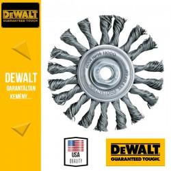 DEWALT DT3502-QZ Fonott Drótkefekorong sarokcsiszolóhoz - 115 mm