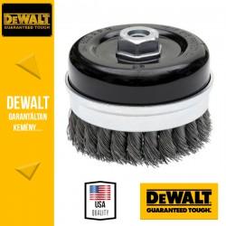 DEWALT DT3492-QZ Fonott fazékkefe sarokcsiszolóhoz - 75 mm x 22 mm