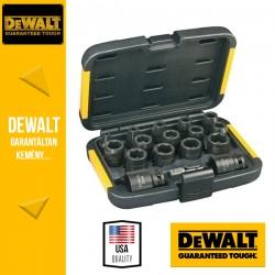 DEWALT DT7506-QZ Extreme Impact Dugókulcs készlet - 17 db-os