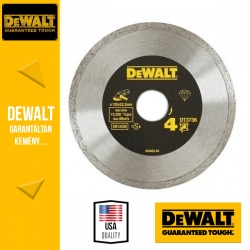 DEWALT DT3736-XJ Gyémánt vágótárcsa csempéhez - 125 mm x 22,2 mm