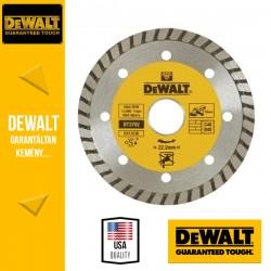 DEWALT DT3702-QZ Turbó Gyémántszemcsés vágótárcsa - 115 mm x 22,2 mm