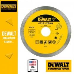 DEWALT DT3715-QZ Vizes-száraz Gyémánt vágótárcsa - 110 x 20 x 8 mm (DWC410)