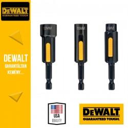 DEWALT DT7460-QZ EXTREME Tisztítható mágneses dugókulcskészlet - 3 db (8, 10, 13 mm)