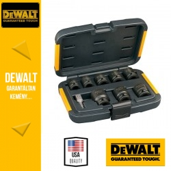 DEWALT DT7507-QZ Extreme Impact Dugókulcs készlet - 9 db-os