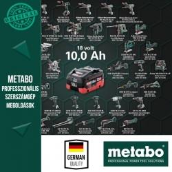 METABO 18V Akkus Akció 10Ah akku AJÁNDÉK