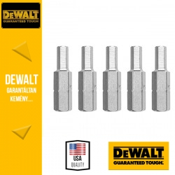 DEWALT DT7167-QZ Csavarozóbetét H6 HEX 25 mm - 5 db/csomag