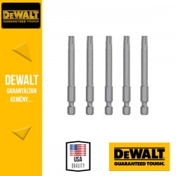 DEWALT DT7293-QZ Csavarozóbetét T25 TORX 70 mm - 5 db/csomag