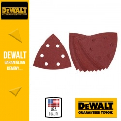 DEWALT DT3091-QZ Csiszolópapír deltacsiszolóhoz 60 g 93 x 93 mm - 10 db/csomag