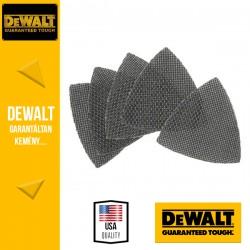 DEWALT DTM3092-QZ EXTREME UNIVERSAL Tépőzáras delta csiszolóháló 80 g 93 x 93 mm - 5 db/csomag