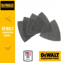 DEWALT DTM3095-QZ EXTREME UNIVERSAL Tépőzáras delta csiszolóháló 240 g 93 x 93 mm - 5 db/csomag