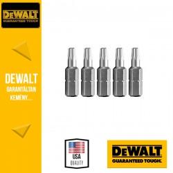 DEWALT DT7257-QZ Csavarozóbetét T27 TORX 25 mm - 5 db/csomag