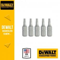 DEWALT DT7254-QZ Csavarozóbetét T15 TORX 25 mm - 5 db/csomag