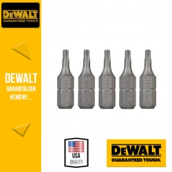 DEWALT DT7253-QZ Csavarozóbetét T10 TORX 25 mm - 5 db/csomag